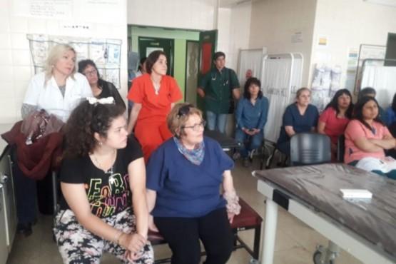 Se realizó una charla sobre Protocolo de Urgencia en Río Turbio