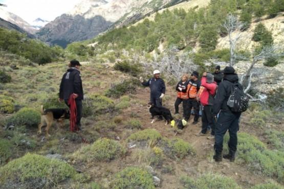 Ejercicios de rescate y búsqueda de personas
