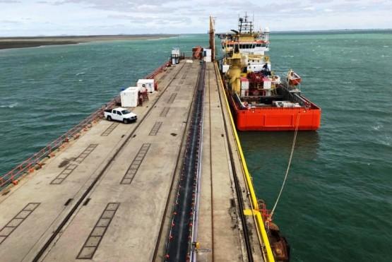 El muelle de YCRT en Punta Loyola vuelve a estar operativo