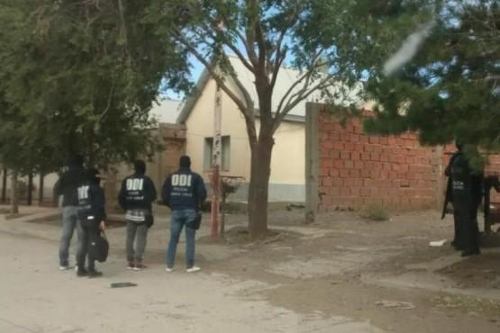 Allanamientos en Caleta por un homicidio ocurrido en Truncado