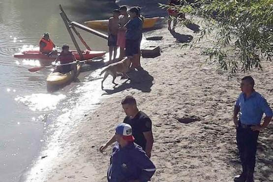 Encontraron el cuerpo de un menor de 11 años ahogado en el río Chubut