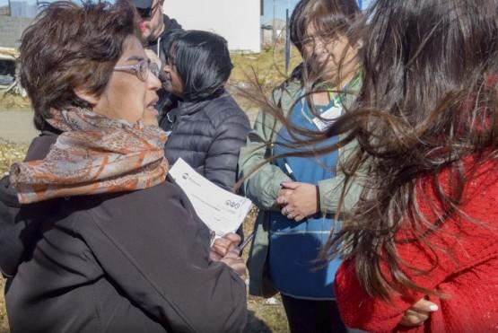 Continúa el censo en el Barrio Bicentenario