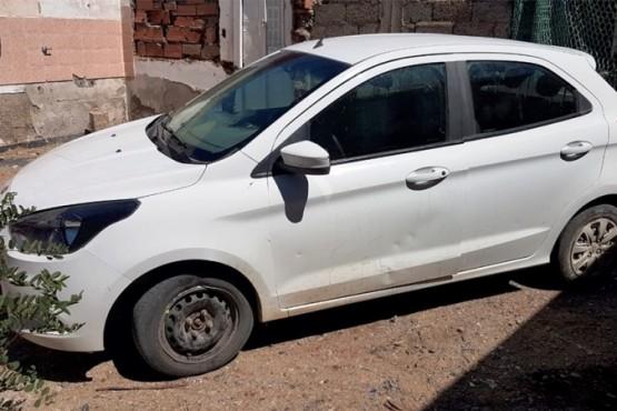 Recuperan vehículo secuestrado que había sido robado de Tránsito