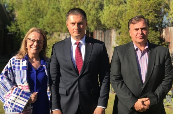 Alicia, Feoktistov y Belloni.