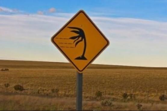 Alerta meteorológico por fuertes vientos