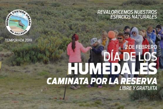 Caminata saludable por el Día Mundial de los Humedales