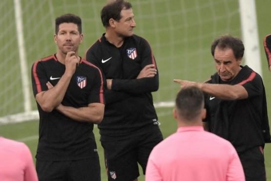 Detuvieron a un integrante del cuerpo técnico del Atlético de Madrid acusado de violencia de género