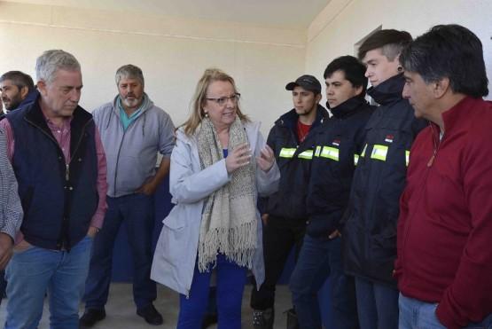 Obras de Servicios Públicos en Gobernador Gregores