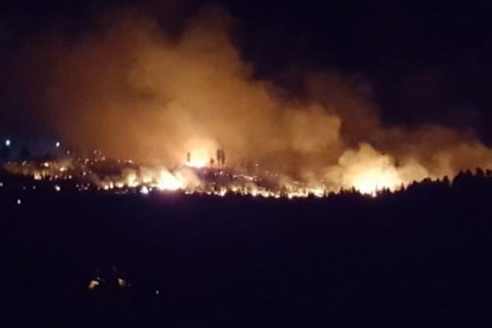 Nación asiste a Río Negro, Buenos Aires y Chubut por los incendios forestales