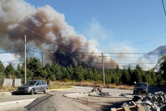 El incendio en Epuyén habría sido por un cortocircuito