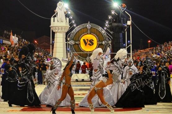 Esquel recibe un hito del Carnaval del País