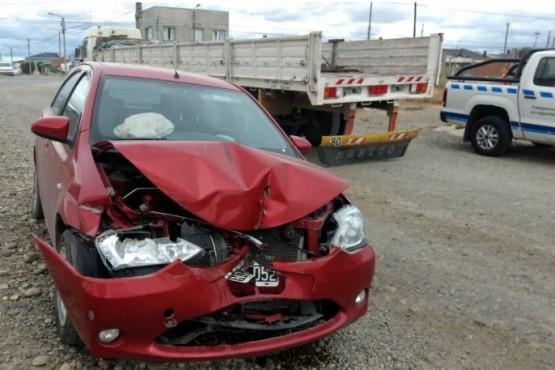 Importantes daños tras colisión