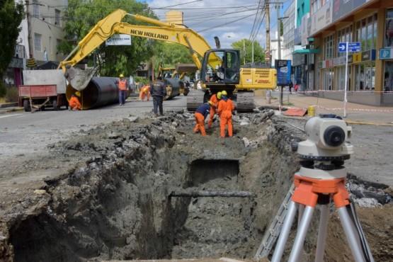 Cortan calles por obras de la Cuenca Sarmiento