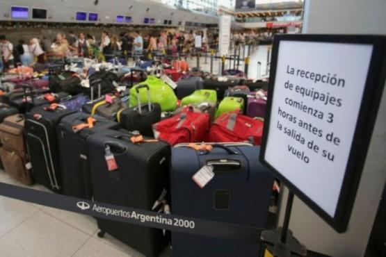 Aerolíneas cobrará el equipaje para los vuelos internacionales