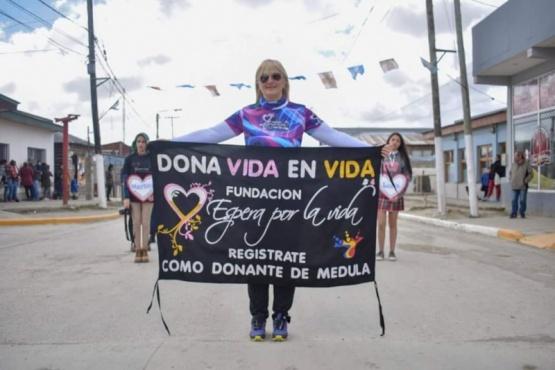 Buscará que se registre un donante de médula por cada kilómetro cumplido en la Ultramaratón