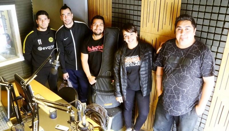 Zariband en Tiempo FM (C.G)