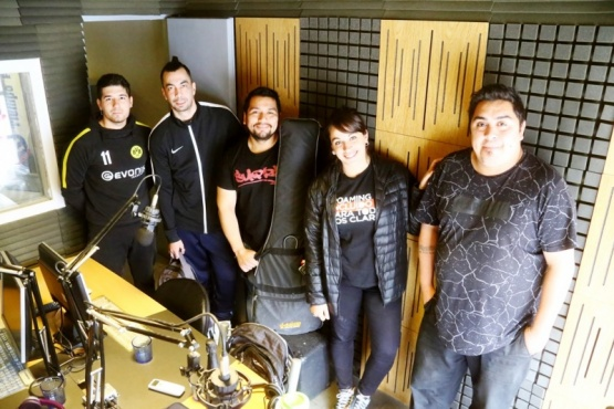 La cumbia santafesina de Zariband sonó en Tiempo FM