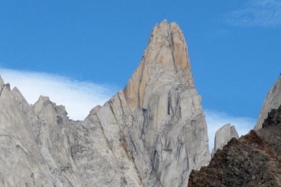 Buscan a un escalador japonés en El Chaltén