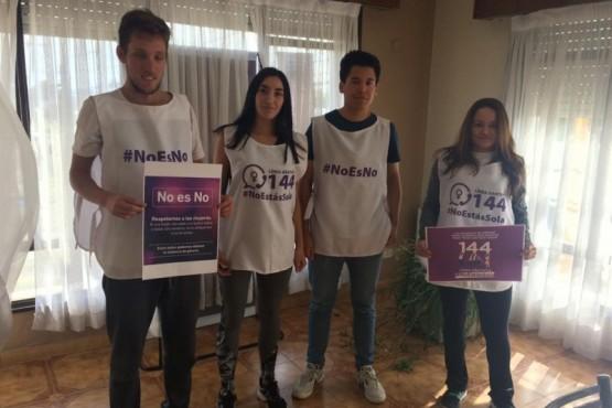 Campaña de concientización nocturna contra la violencia de género