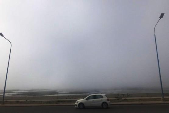 Comodoro amaneció con neblina