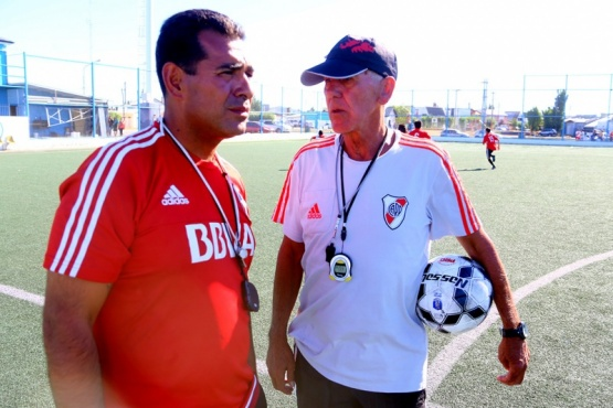 River prueba jugadores en Río Gallegos