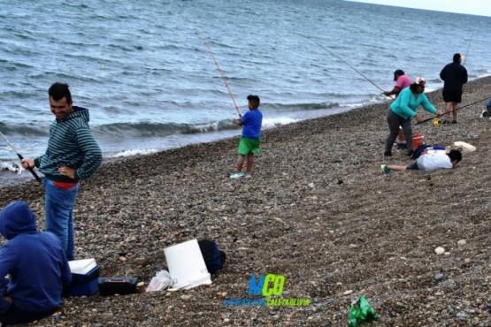 Exitosa jornada para el segundo encuentro de pesca joven