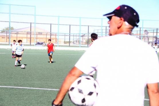 Más de 500 chicos demostraron su destreza con la pelota