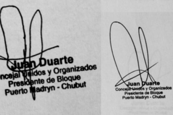 Concejal de UYO dice que las firmas no son truchas