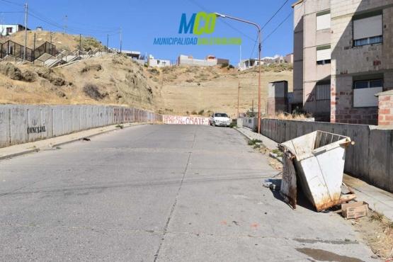 Se realizaron tareas de limpieza en diversos puntos de la ciudad