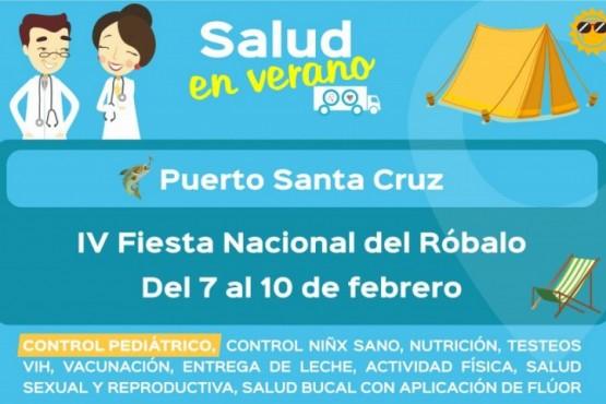 Salud participará de la Fiesta Provincial y Regional del Róbalo