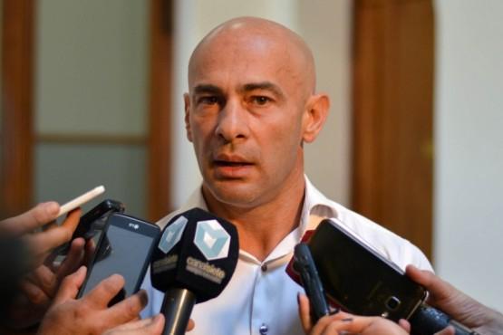 Ministro de Gobierno, Federico Massoni.