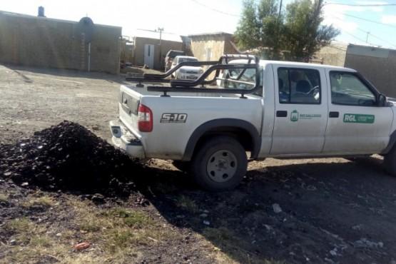 Se reiniciaron las tareas de acopio de carbón