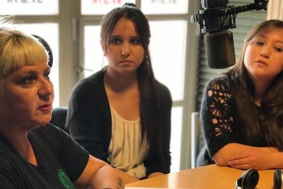 Mateada en el Peliche en reclamo por estabilidad laboral