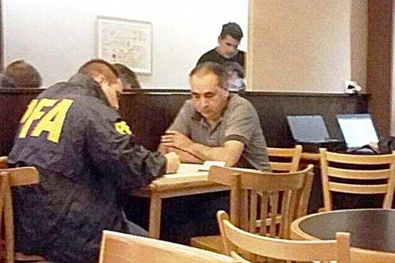 Osuna cuando fue detenido el año pasado.