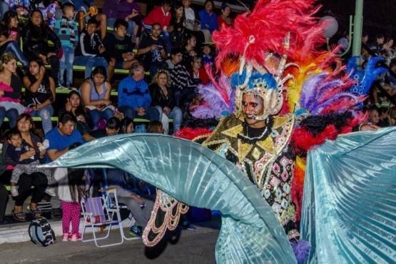 Una multitud se acercó a para disfrutar la segunda jornada de los Carnavales