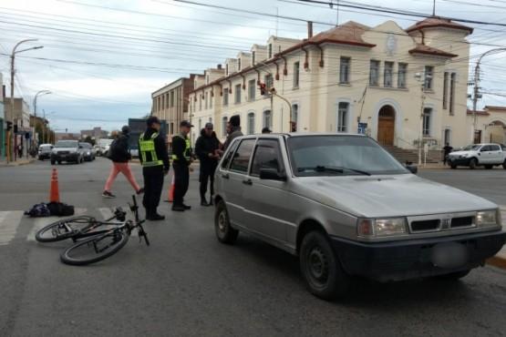 Atropellaron a un hombre en la Avenida San Martín