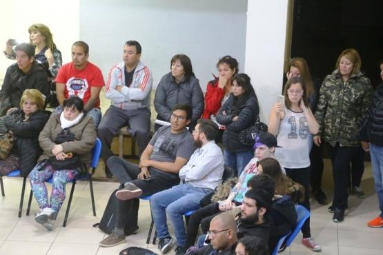 Asamblea vecinal contra los tarifazos