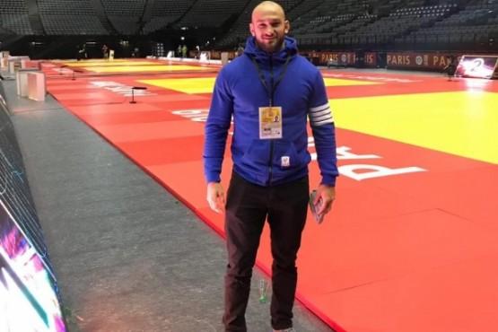 Tomas Spikerman en el Grand Slam de Judo en Paris