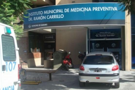 La víctima permanece internada en el Instituto Municipal de Medicina Preventiva Dr. Ramón Carrillo. FOTO: GENTILEZA PERSPECTIVA SUR