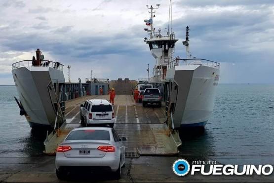 Sin cruce de barcaza hasta nuevo aviso por vientos intensos