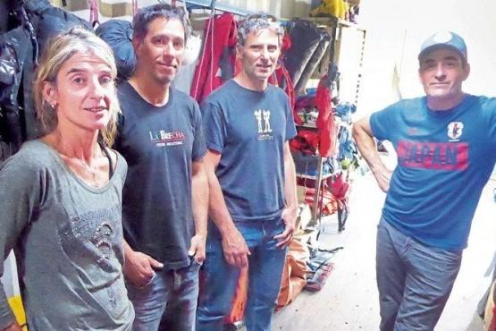 La médica y rescatista de montaña que cuida a los escaladores de El Chaltén