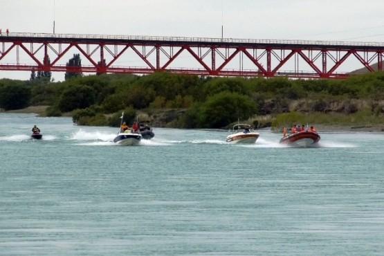 El tradicional Raid Náutico fue un éxito en la Fiesta Nacional del Lago
