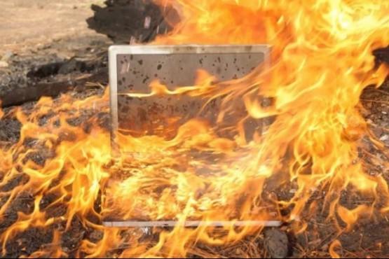 ¿Te compraste una notebook en Chile? Corrés riesgo de que se incendie