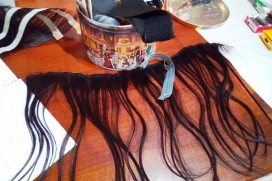Inició el taller de confección de pelucas para pacientes oncológicos