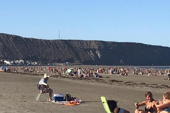 Viernes de playa para Comodoro y Rada Tilly