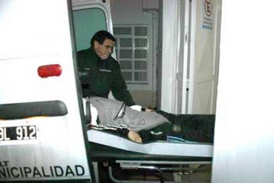 El cuerpo fue llevado a la morgue judicial donde le hicieron la autopsia.