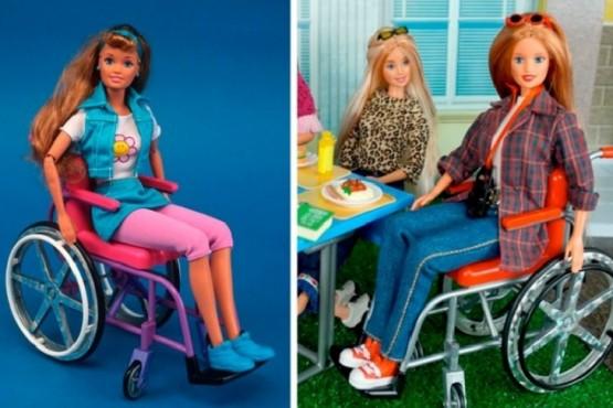 Versión inclusiva: Barbie en silla de ruedas