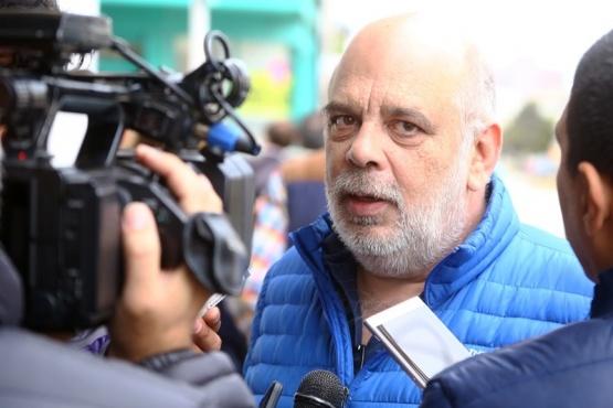 Intendente Roberto Giubetich. (C.G)