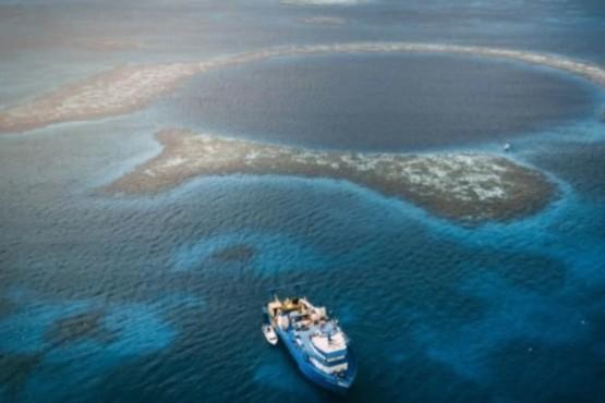 Los increíbles hallazgos de una expedición en el Gran Agujero Azul en el Caribe
