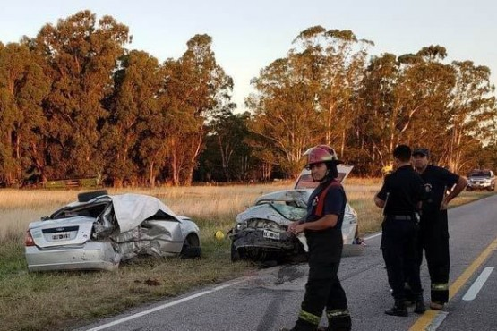 Tragedia en la ruta: en un choque murieron cinco personas, entre ellas dos bebés